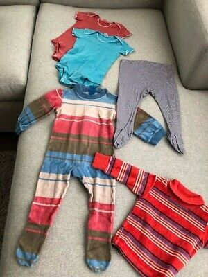 12 MONTH BABY Clothes Collection of 5 Pieces - All Adorable, Clean, Gently Used