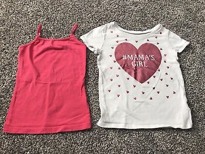Cherokee and children's place Girl 4/5 5t Lot Of 2 Shirts