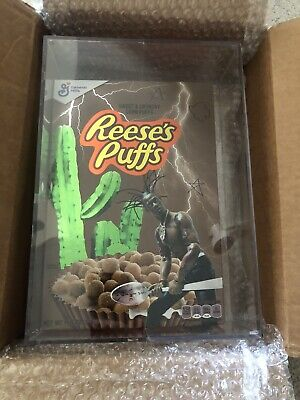 Travis Scott X Reese's Puffs Cereal 100% Authentic Sealed Brand New (Unopened)