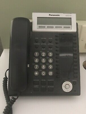PANASONIC KX-DT333 24 BUTTON DISPLAY PHONE  w/ handset.