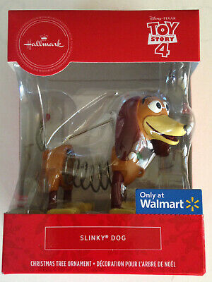 "Reduced! 2019 Toy Story 4 Hallmark Christmas ornament ""SLINKY DOG"" Exclusive"