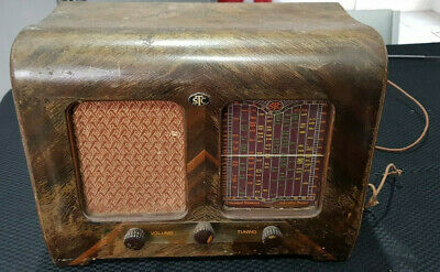 1946 Stc Model 140 Timber Valve Radio Vintage Valve Radio