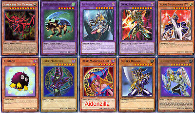 Yugioh Yami Yugi Deck - Dark Magician Slifer the Sky Dragon Dark Paladin