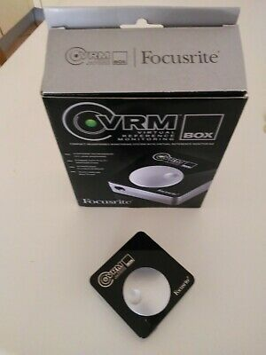 FOCUSRITE VRM INTERFACCIA MONITOR DA STUDIO (usato due volte)