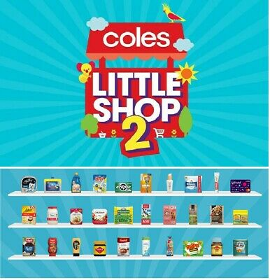 Coles Little Shop 2 Mini Collectables Best Price Toy Collect