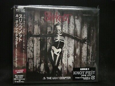 SLIPKNOT .5: The Gray Chapter JAPAN 2CD SPECIAL EDITION Stone Sour Extreme HM !