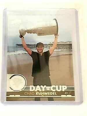 2017-18 Upper Deck Series 1 Chad Ruhwedel Day With The Cup Insert- Penguins