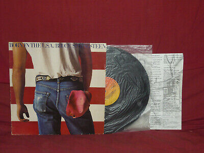 "LP - BRUCE SPRINGSTEEN ""Born in the USA"" CBS 86304"