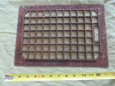 Heat / Air Grate Wall Register Grille Only