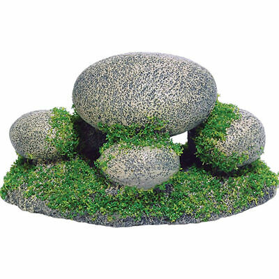 Moss Pebbles Reptile Vivarium Decoration Fish Aquarium Ornament Stone
