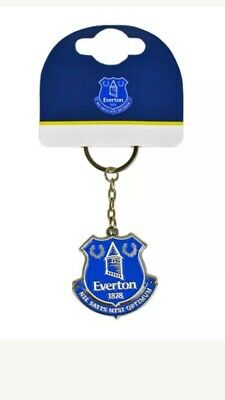 Everton Fc Club Crest Metal Keyring Key Ring Gift Fathers Day