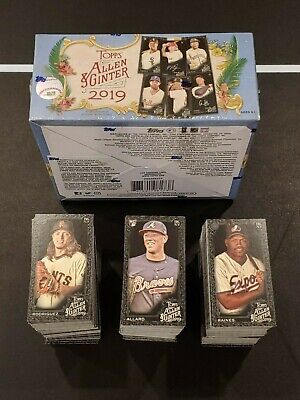 2019 Allen & Ginter X Mini You Pick Complete Your Set 151-400 Online Exclusive