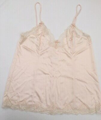 Vintage camisole vest top by Warners size L in Peach