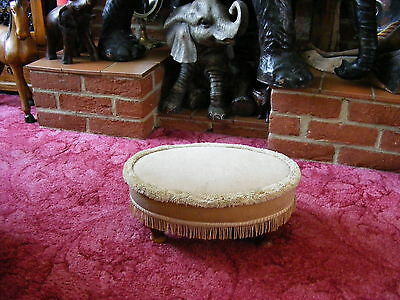 Lovely Sherborne Wooden Vintage Bedroom Footstool Foot Stool