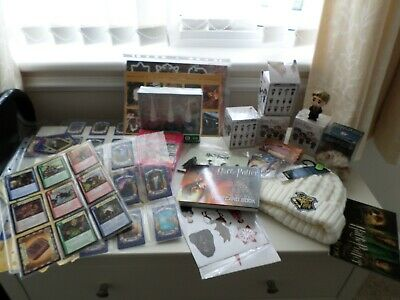 Selection Of Harry Potter Items Cards Hat Cards Etc
