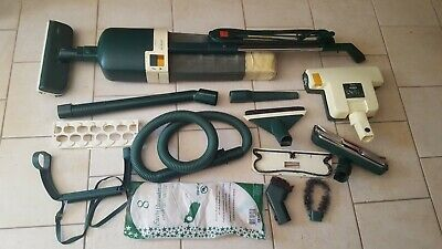 ASPIRAPOLVERE VORWERK FOLLETTO vk 120 + accessori vari