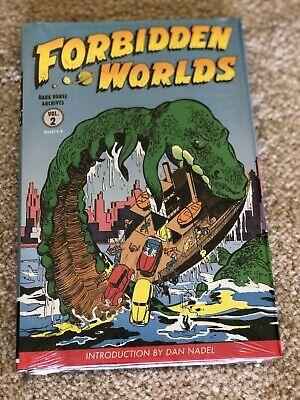 3 Forbidden Worlds Archives Volumes 1 Dark Horse HC 2 3 SEALED ACG Comics