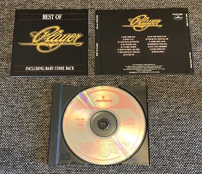 Player The Best of Player CD Japan 1990 Mercury PHCR-2088 Peter Beckett Ron Moss
