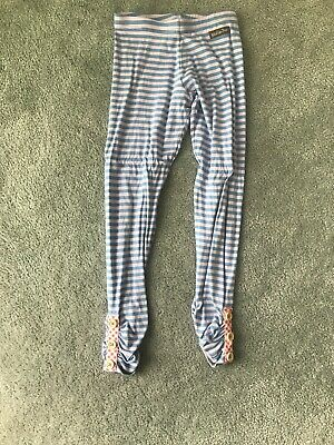 Matilda Jane Striped Leggings Size 8