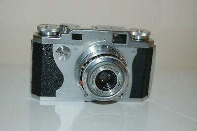 Konica II Vintage 1951 Japanese Rangefinder Camera. Working. No.144704. UK Sale