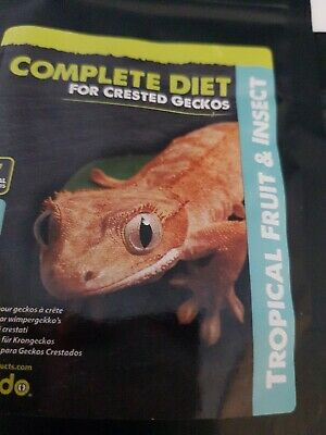 Komodo Complete Diet Crested Gecko Tropical Fruit & Insects BB SEPTEMBER 2019
