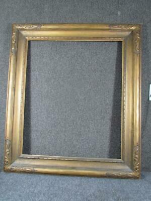 """ANTIQUE HAND CARVED FRAME by NEWCOMB MACKLIN, FITS PAINTING 30X25 """" INCHES"""