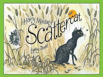 Hairy Maclary Scattercat by Lynley Dodd Hard Cover Children's Reading Story Book