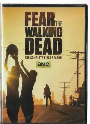 Sealed NEW DVD - TV Series -  FEAR THE WALKING DEAD  -  Season 1