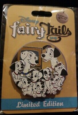 Disney Fairy Tails Pin Trading Event 2019 101 Dalmatians Pin LE 500 New