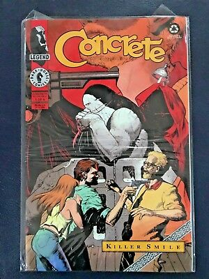 Concrete - Killer Smile 1-4 Dark Horse Comics - 1994 - complete run - Near Mint