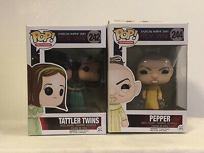 Funko Pop! Lot American Horror Story Pepper And The Tattler Twins