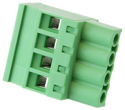 Terminal BLOCK RA PLUG 5.08MM 4 WAY Connectors terminal Blocks, terminal