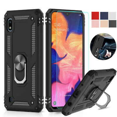 For Samsung Galaxy A10e A20 Full-Body Hybrid Dual Layer Protective Cover Case