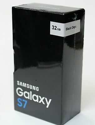 New Samsung Galaxy S7 32GB Unlocked Smartphone Black Silver Gold Gift Sealed Box