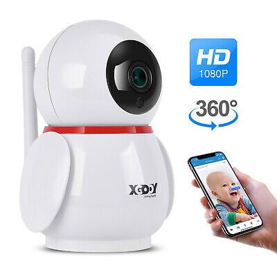 Xgody Telecamera 1080P Hd Full Color Ip Camera Esterno Wireless Wifi Infrarossi