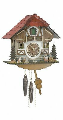 1 day running time cuckoo Clock Black Forest house TU 1513 NEW