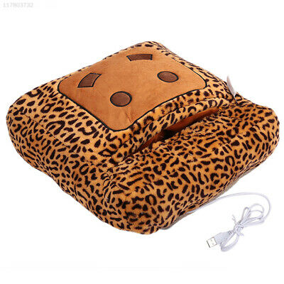 B320 Warm Hand Practical Durable Washable Blanket Multi Function Home Leopard