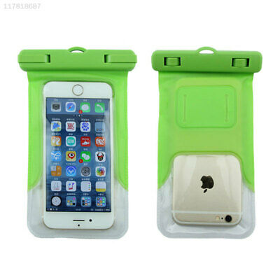 8DA7 Phone Armband Green Case Waterproof for 4.8-6'' Underwater Phones Diving