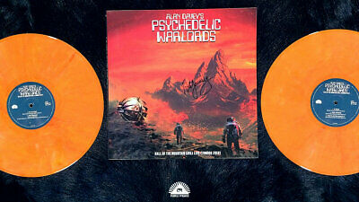 Alan Davey's Psychedelic Warlords - Hall Of The Mountain.. // 2xLP Vinyl ltd 300