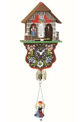 Black Forest Clock Black Forest House Weather House  TU 805 SQ NEW