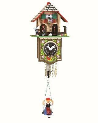 Black Forest Clock Black Forest House Weather House TU 804 S NEW
