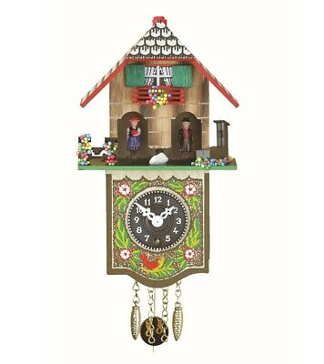Black Forest Clock Black Forest House Weather House TU 804 P NEW