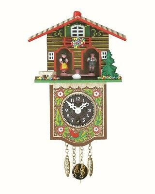 Black Forest Clock Black Forest House Weather House TU 809 P NEW
