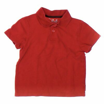 Jumping Beans Boys Polo Shirt, size 4/4T,  red, orange,  cotton