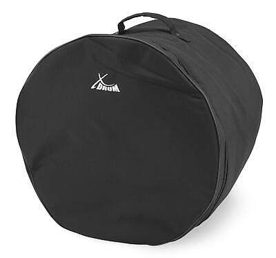 16'' Floor Tom Drum Bag Padded Soft Case Premium Tear Resistant Robust Black