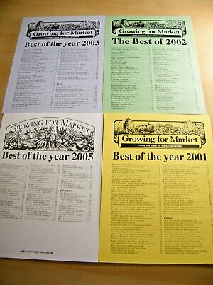 Growing For Market - 450+ pages of news & ideas for Growers and Market Gardeners