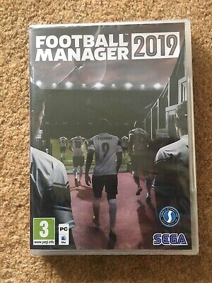 Football Manager 2019 (PC)  Brand New & Sealed UK PAL
