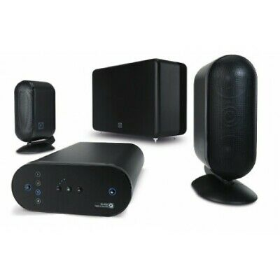 Q Acoustics Media 7000 M7 2.1 Speaker & Sub Package Black B3 GRADE