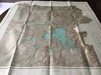 Yellowstone National Park Geological Survey Maps 1961