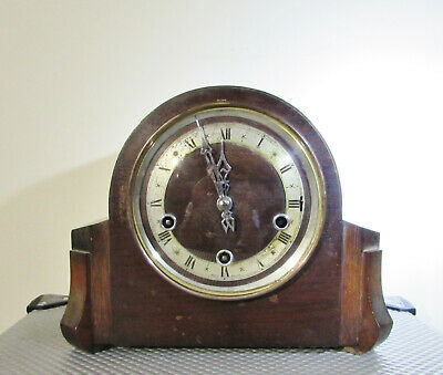 Antique Mantel clock by Enfield with Westminster chimes